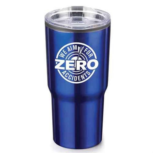 NS013820 AIM FOR ZERO Stainless Steel Tumbler 20 oz. [